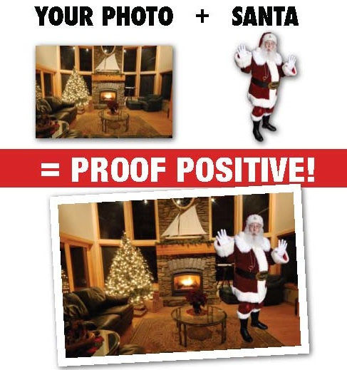 Photo proof of Santa in your home